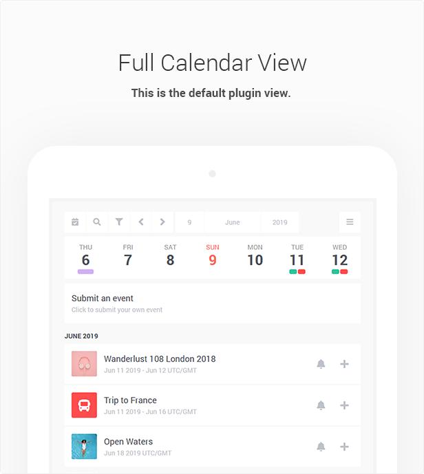 Stachethemes Event Calendar - WordPress Events Calendar Plugin - 8